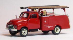 Opel Blitz brandweer voor