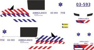 MB Sprinter 13 ambulance GGB