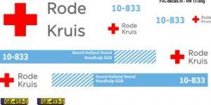 Rode kruis Noodvoertuig GGB
