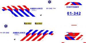 VW Touran ambulance 187